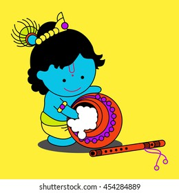 Cartoon Krishna Images Stock Photos Vectors Shutterstock