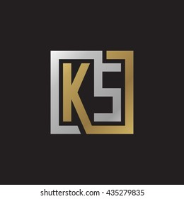 ks logo images stock photos vectors shutterstock https www shutterstock com image vector ks initial letters looping linked square 435279835
