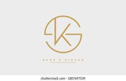 Ks Monogram Images Stock Photos Vectors Shutterstock