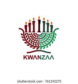 Kwanzaa symbol flat