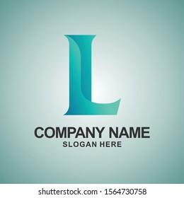 L alphabet vector logo inspirations