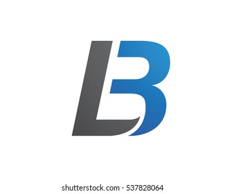 L, LB Letter Logo Business Template Vector icon