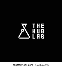 Lab Logo Icon Design Template Elements