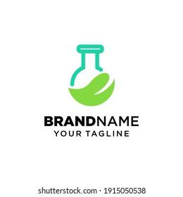 Lab Logo Template Design. Vector illustration. Lab icon. Design inspiration.