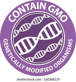 Label contain gmo