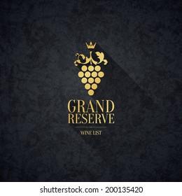 Label, logo design winery