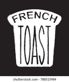 a label for Perfect French toast