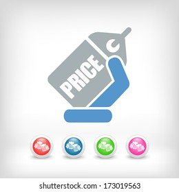 Label price icon