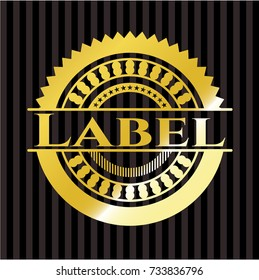 Label shiny badge
