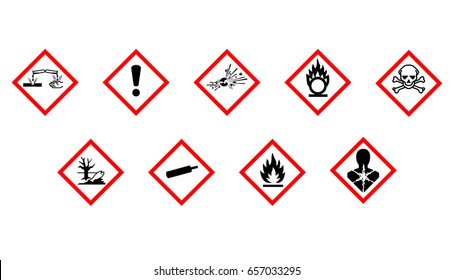 Labeling chemical hazards