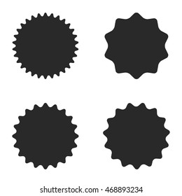 Labels icons. Vector Illustration