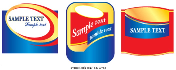 Labels in red and blue colors