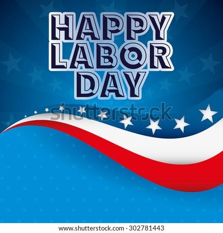Labor Day Design Vector Illustration Eps 10 Stock Vector Royalty