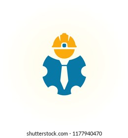 labor logo vector, icon of labor