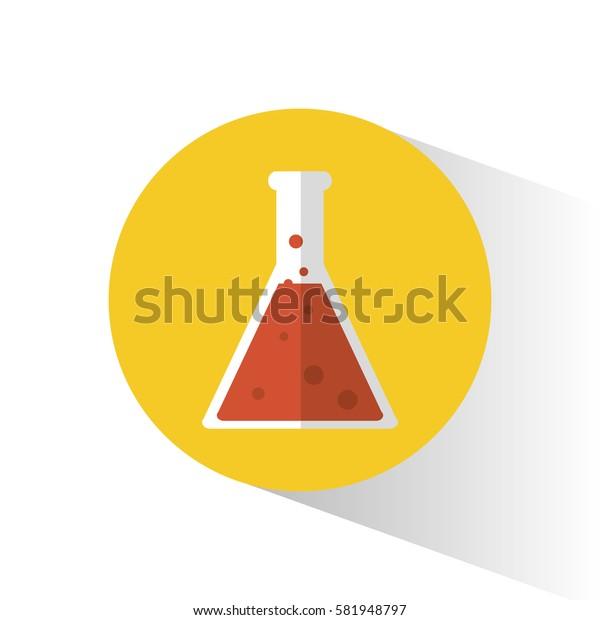 laboratory flask science school