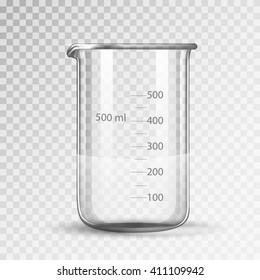 laboratory glassware or beaker