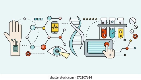 Laboratory with human DNA. Concept scientific. Research molecule, chemistry medical, biology technology, atom and gene medicine, biotechnology evolution, molecular structure, genetic spiral