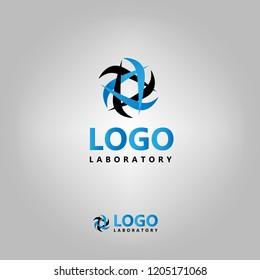 Laboratory template logo