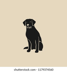 Labrador Retriever - isolated vector illustration