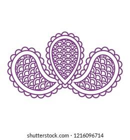 lace buta design