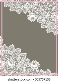 Lace Card.