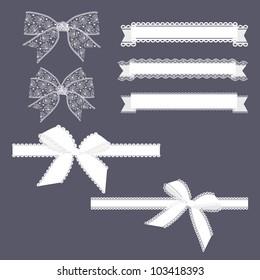 Lace Ribbons Set