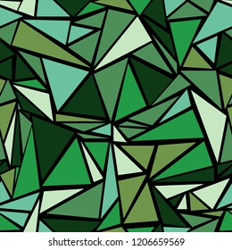 Laconic triangular shapes geometric seamless vector. Minimal triangles polygonal tile. Urban triangle shapes minimal backdrop. for business ceramic tile.