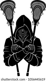 Lacrosse Assassin Sport Symbol