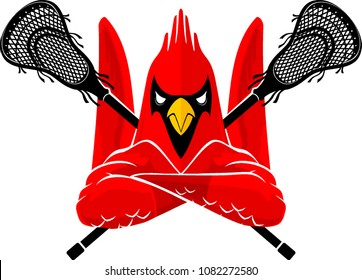 Lacrosse Cardinal Bird