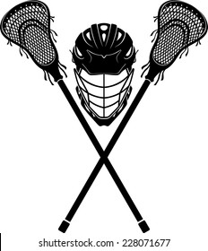 Lacrosse  Equipment Front View