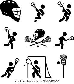 Lacrosse icons