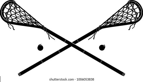 lacrosse sticks images stock photos vectors shutterstock rh shutterstock com womens lacrosse stick clip art lacrosse sticks clipart vector