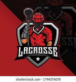 Lacrosse Team mascot Logo designs