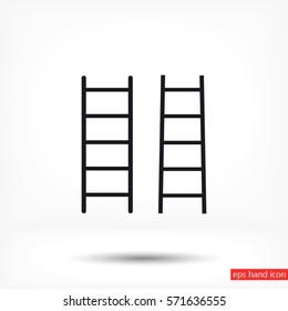 ladder icon set