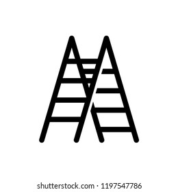 ladder icon vector template