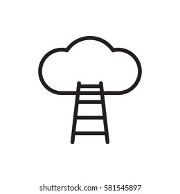 ladder to the sky icon.
