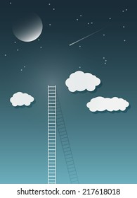 Ladder to universe