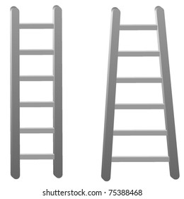 ladder. vector