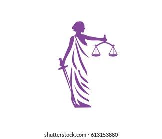 Lady Lawyer logo