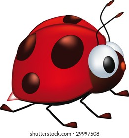 ladybird from a cartoon film
