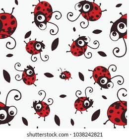 Ladybird Pattern Texture