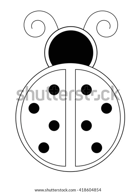 9 Free Printable Ladybug Templates (cute for coloring & crafts ... | 620x436
