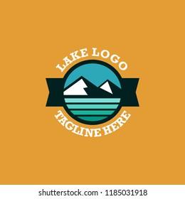 Lake Logo Template Ready to Use