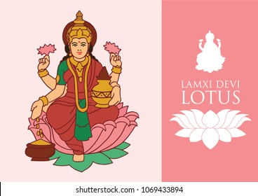 Lakshmi or Laxmi, is the Hindu goddess of wealth, fortune and prosperity