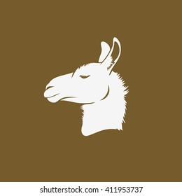 Lama - vector illustration