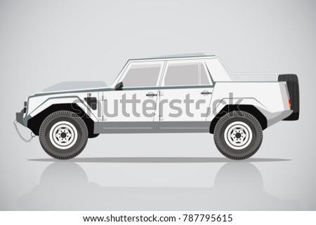 Lamborghini car SUV Side