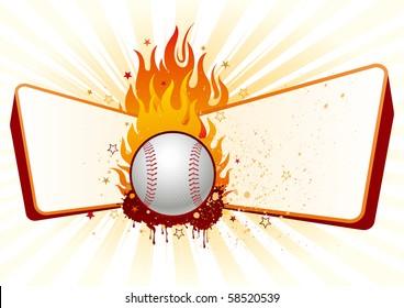 lame,baseball design element