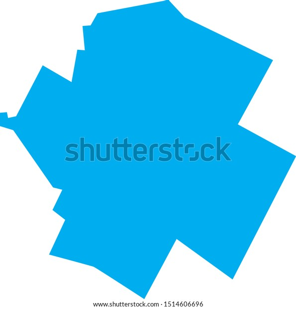 Lamoille County Map State Stock Vector (Royalty Free) 1514606696