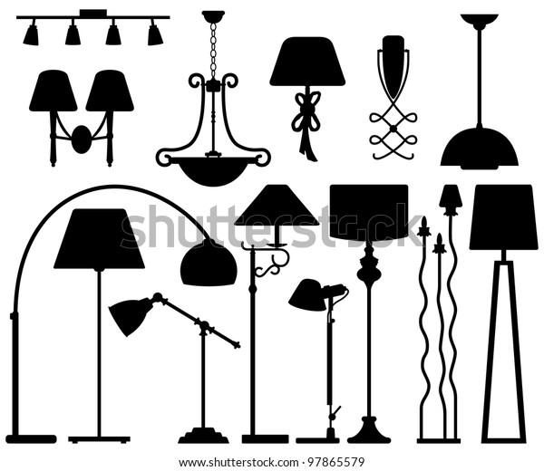Lamp Design for Floor Ceiling Wall