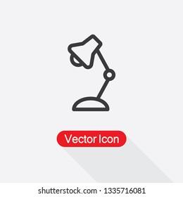 Lamp Icon Vector Illustration Eps10